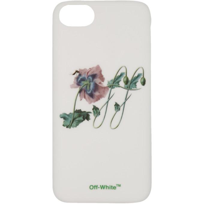 Off-White ホワイト ポピー ロゴ iPhone 8 ケース