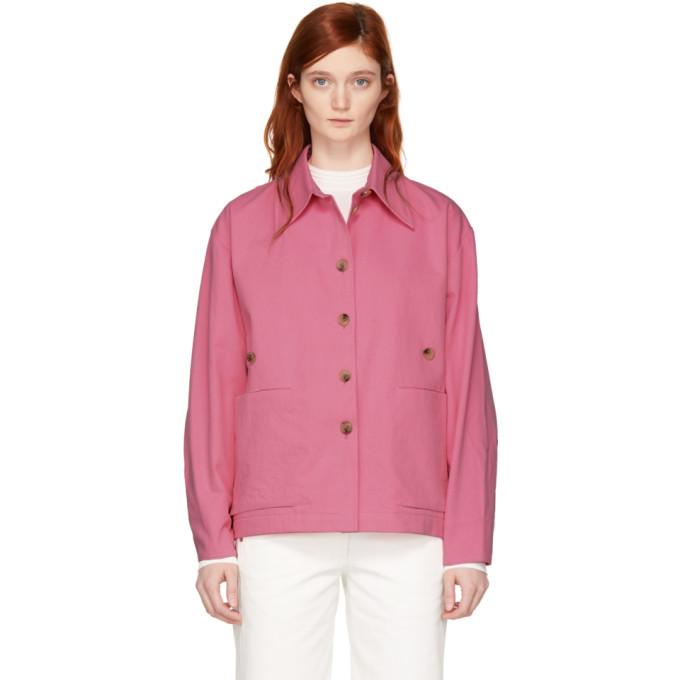 Studio Nicholson Pink Mizuna Waisted Utility Jacket