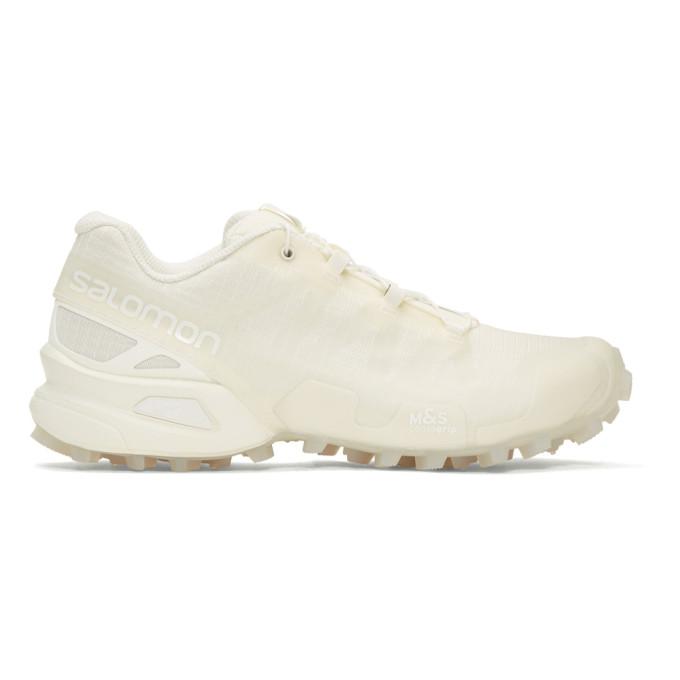 11 by boris bidjan saberi male 11 by boris bidjan saberi white salomon edition transparent speedcross sneakers