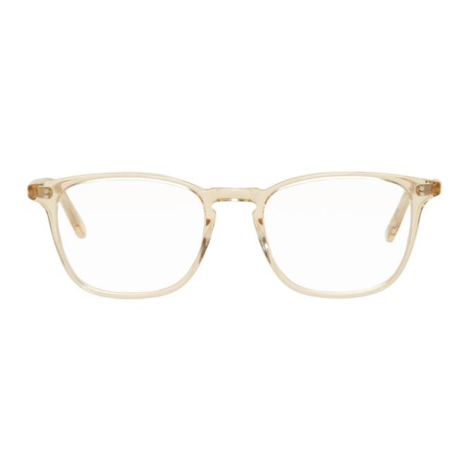 Image of Garrett Leight Gold Boon Glasses