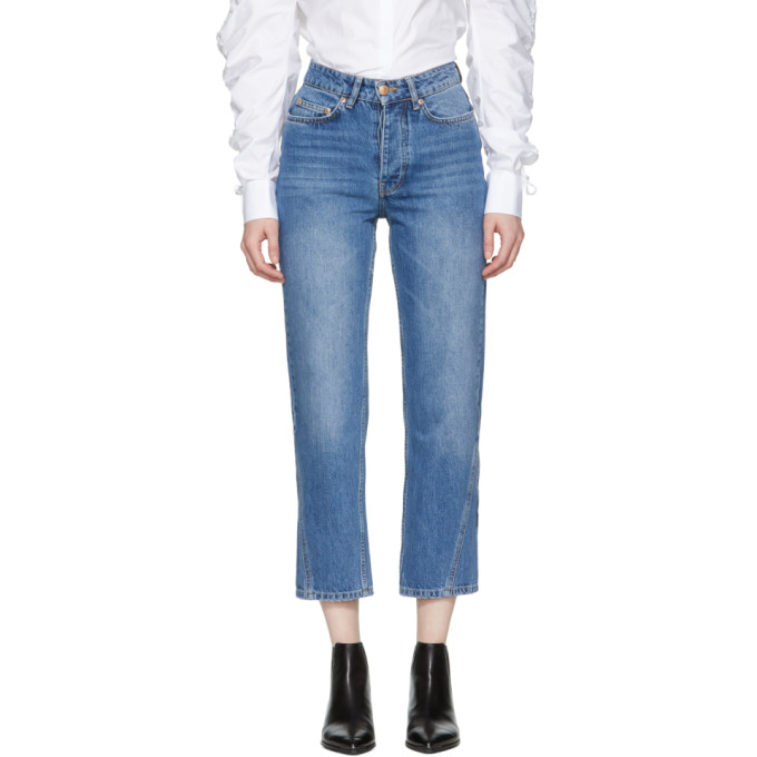 Won Hundred Blue Pixi Wide-Leg Jeans