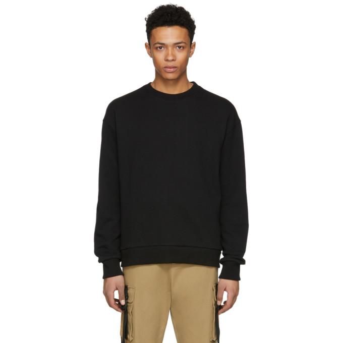 Image of D by D Black Back X-String Sweatshirt