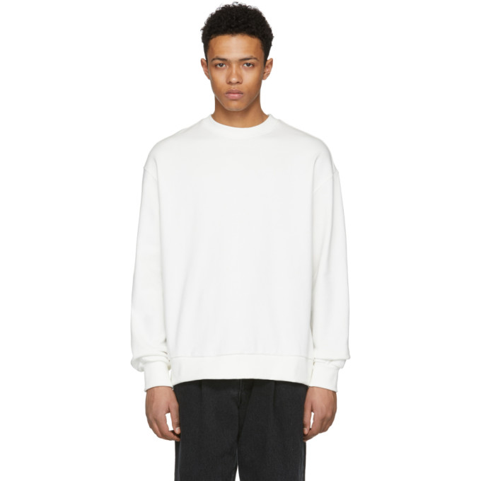 Image of D by D White X-String Sweatshirt