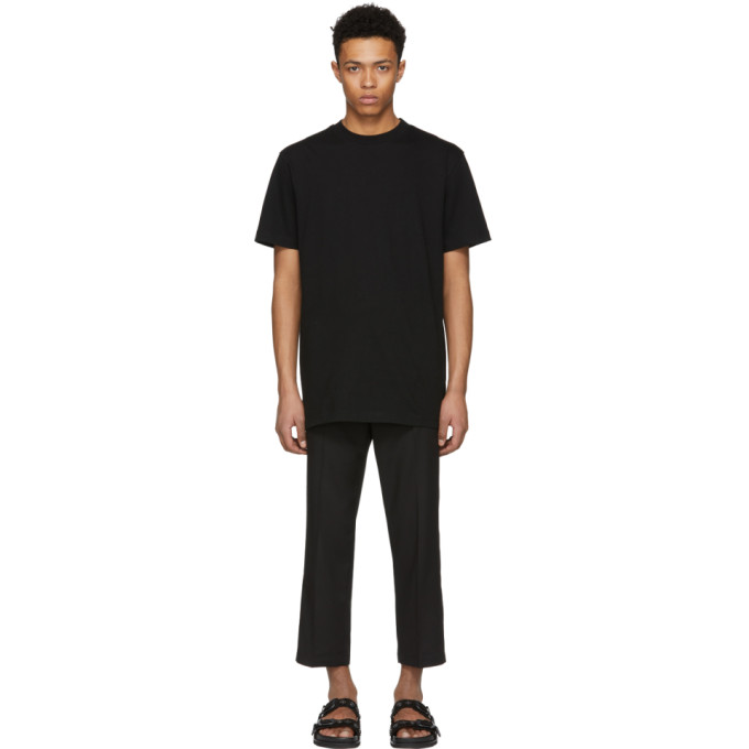 Image of D by D Black Double Tape T-Shirt