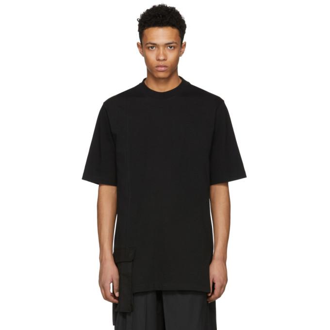 Image of D by D Black Front Pocket T-Shirt