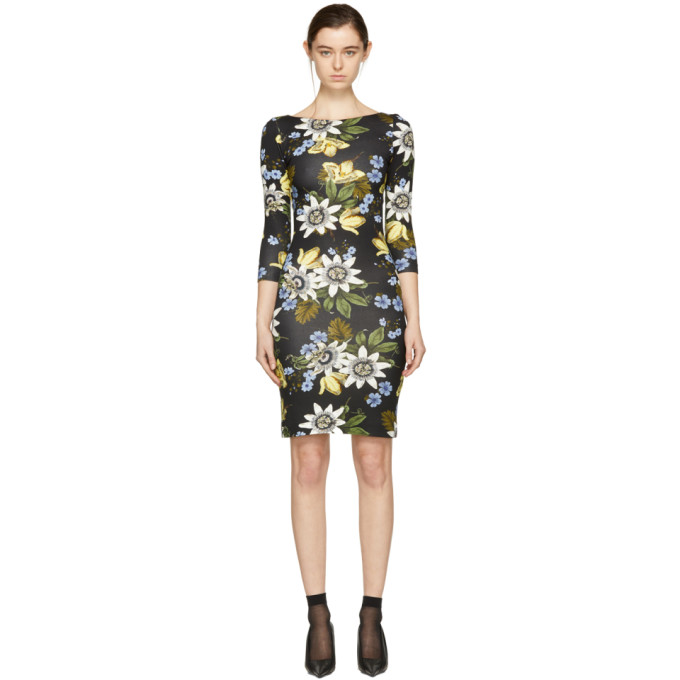 Image of Erdem Black Reese Dress