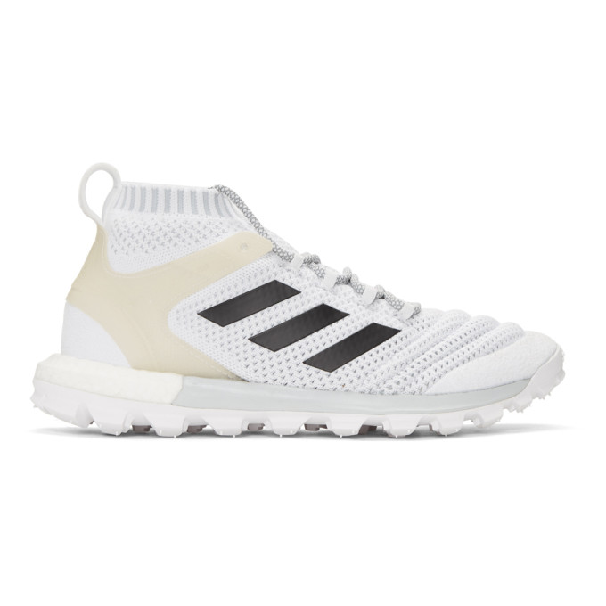 Gosha Rubchinskiy Baskets blanches Copa Mid PK edition adidas Originals