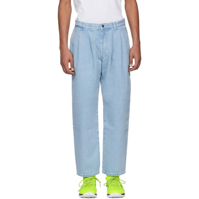 Image of Gosha Rubchinskiy Blue Classic Jeans