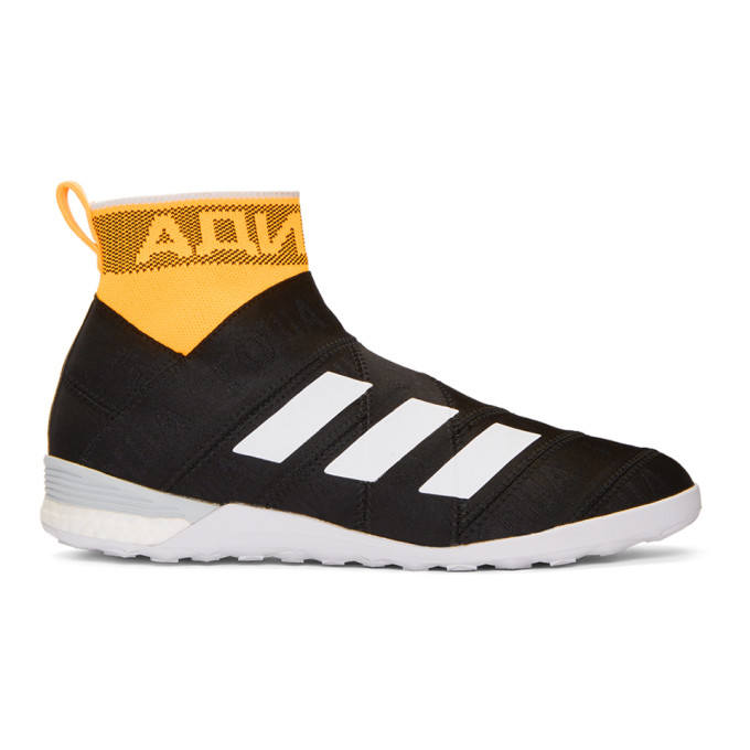 Image of Gosha Rubchinskiy Black adidas Originals Edition Nemeziz High-Top Sneakers