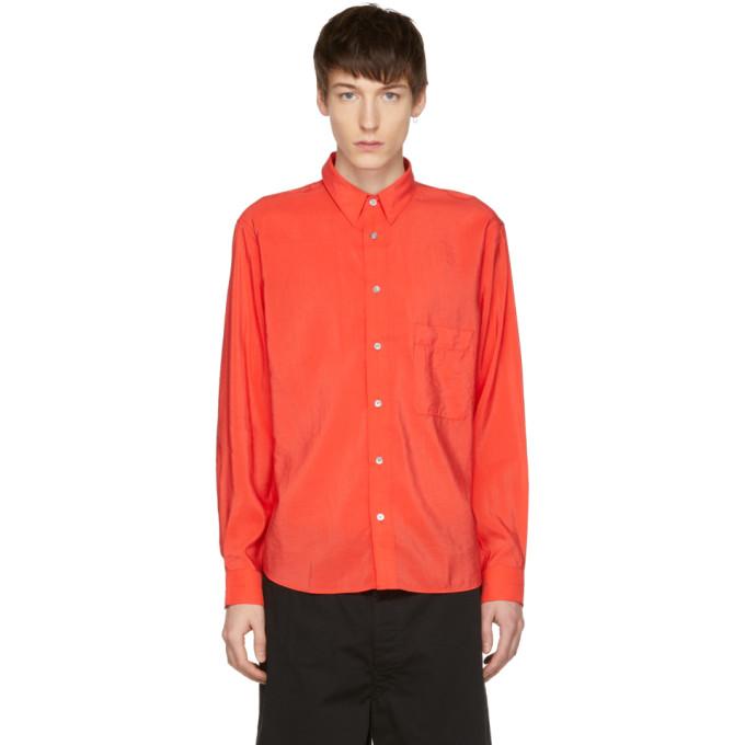 Lemaire Chemise rouge One-Pocket
