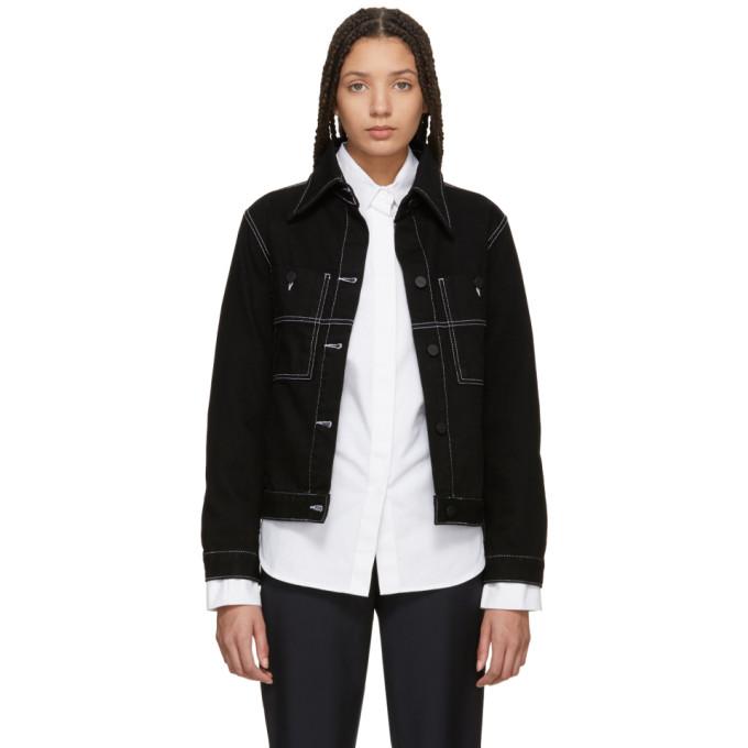 Image of Études Black Celest Denim Jacket
