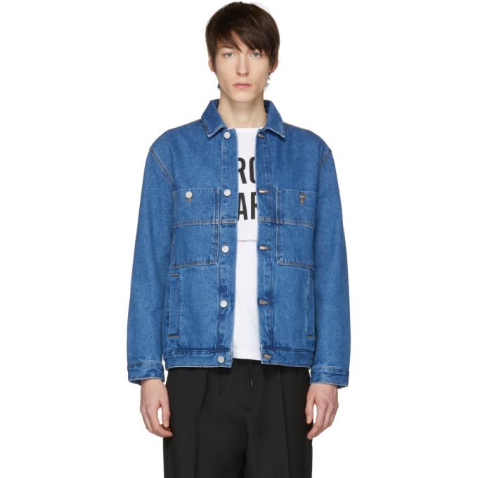 Études Blue Denim Guest Jacket