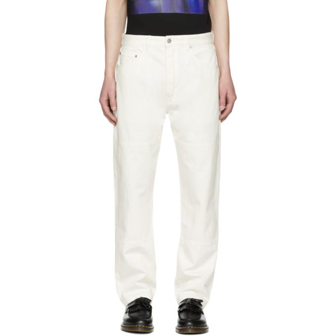 Études White Corner Jeans