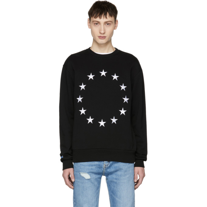 Image of Études Black Etoile Europa Sweatshirt