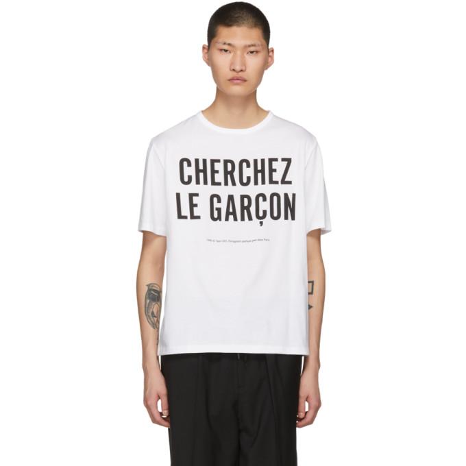 Études White Unity Cherchez Le Garçon T-Shirt