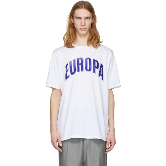 Études White Europa College T-Shirt
