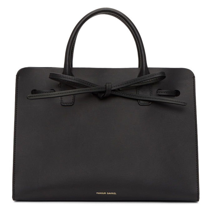 Mansur Gavriel Black Mini Sun Bag