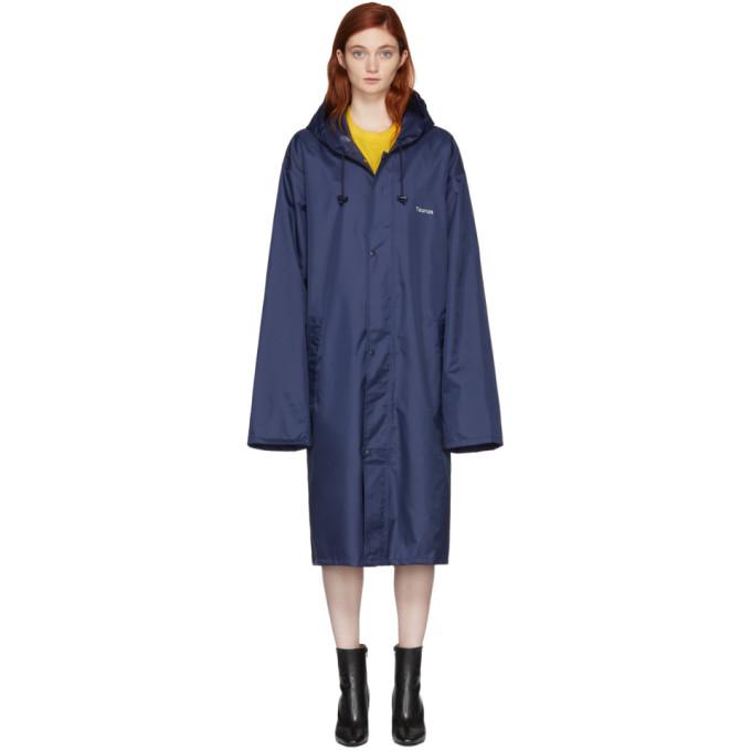 Vetements Navy Taurus Horoscope Raincoat