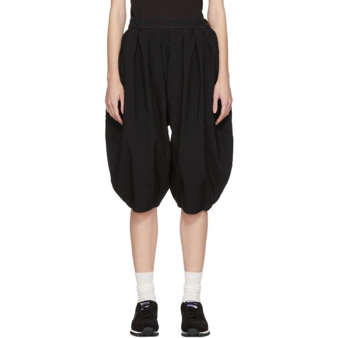 Image of Comme des Garçons Comme des Garçons Black Box Pleat Trousers