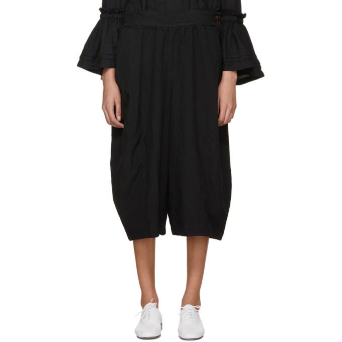 Image of Comme des Garçons Comme des Garçons Black Suspender Trousers