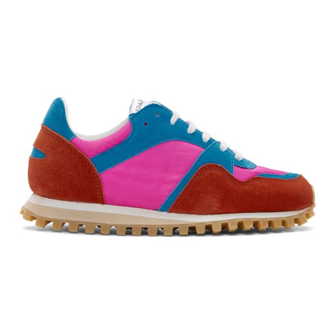 Image of Comme des Garçons Comme des Garçons Pink Marathon Trail Sneakers