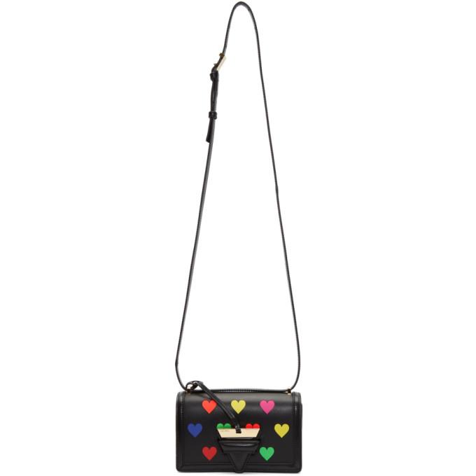 Loewe Black Small Barcelona Hearts Bag