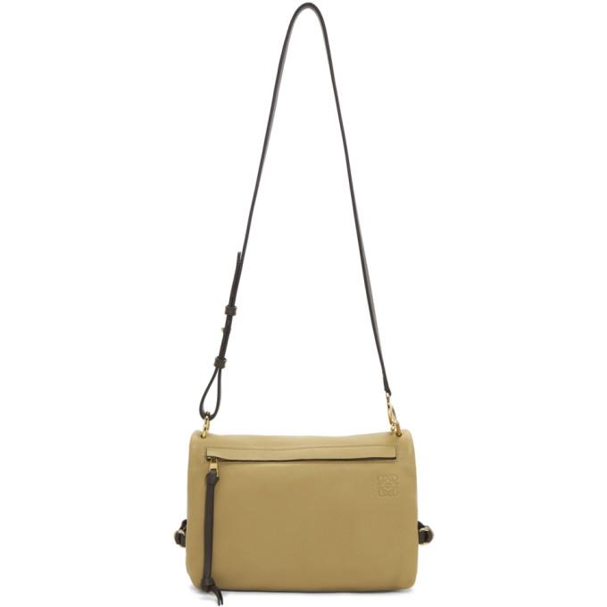 Loewe Reversible Beige Tent Bag