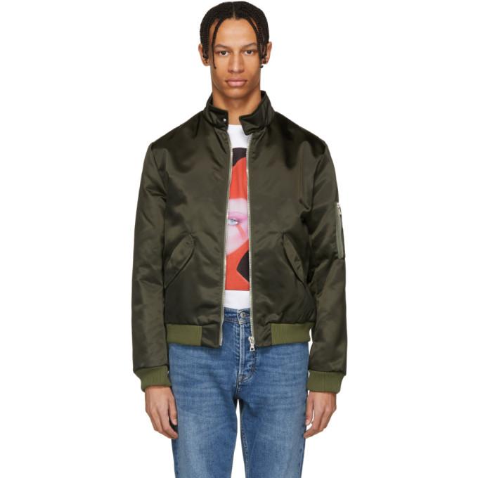 Image of Harmony Black Maxwell Bomber Jacket