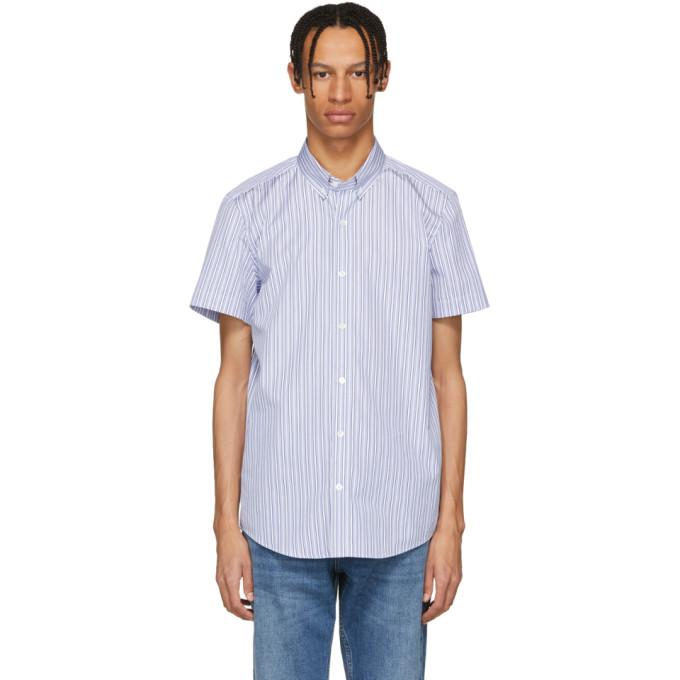 Image of Harmony Blue & White Striped Camden Shirt