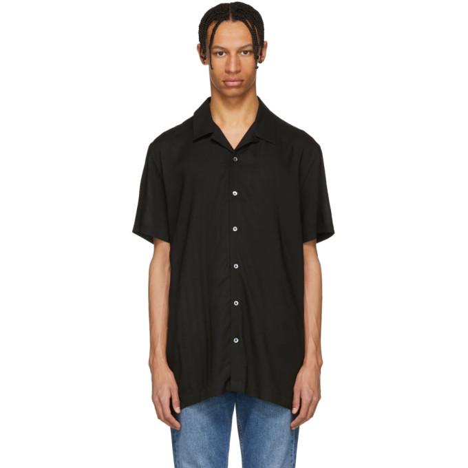 Image of Harmony Black Short Sleeve Christophe Shirt