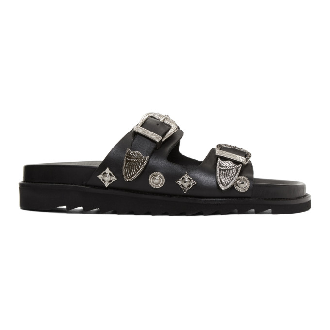 Image of Toga Virilis Black Charm Sandals