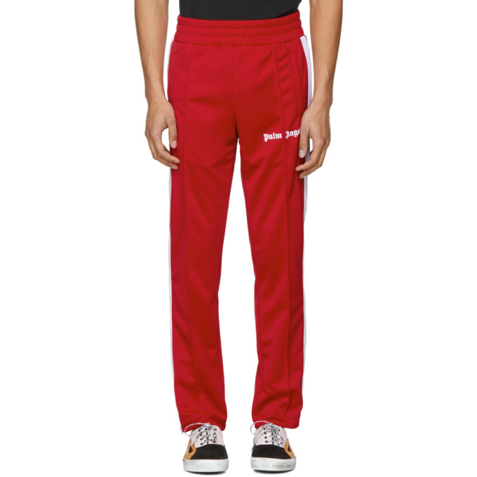 Palm Angels Red Track Pants
