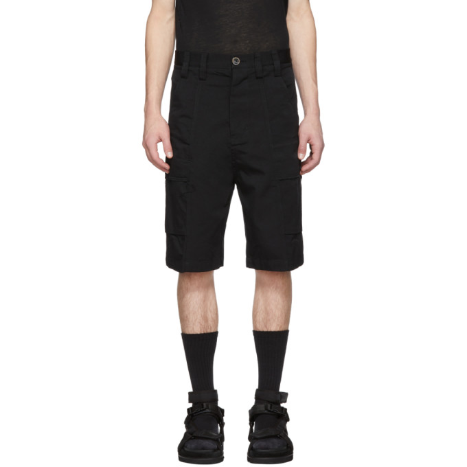 Image of Song for the Mute Black Bucket Cargo Shorts