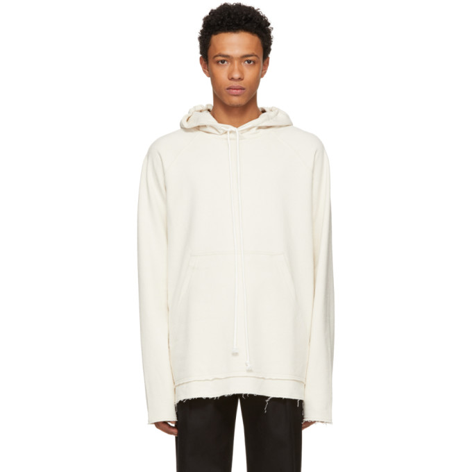 Image of Song for the Mute Beige 'Wander' Hoodie