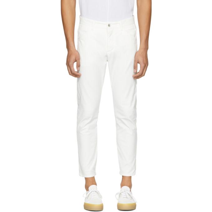 Attachment White Skinny Jeans