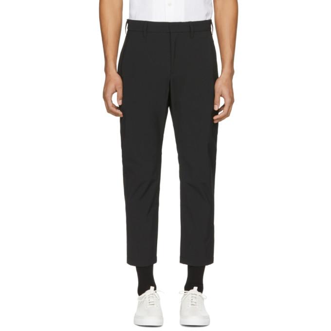 Image of Attachment Black Nylon Trousers