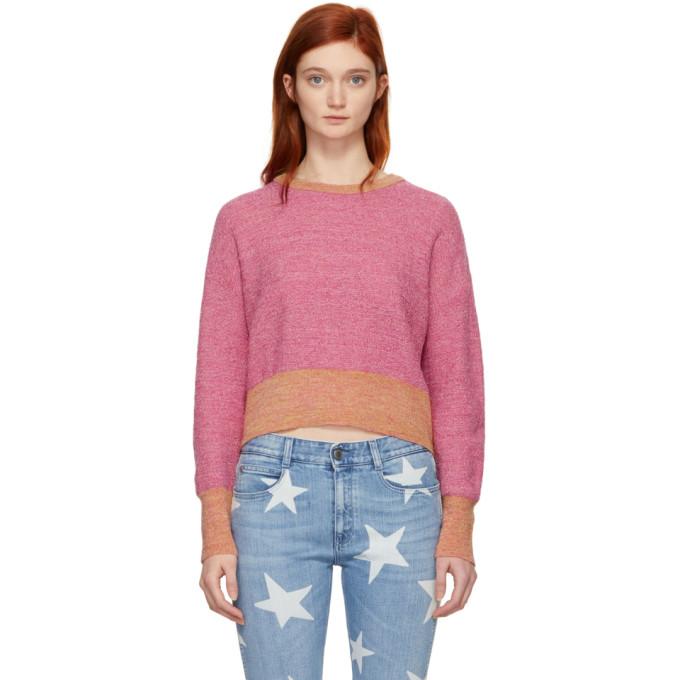 Simon Miller Pink Yates Crewneck Sweater
