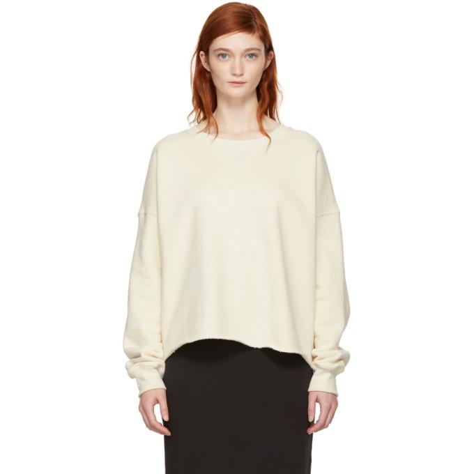 Simon Miller Off-White Brush Sweatshirt