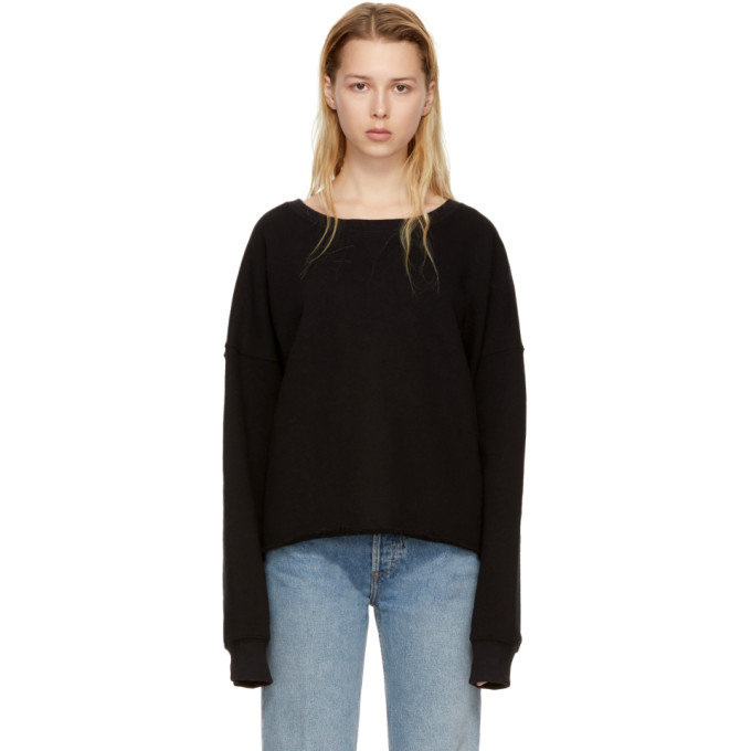 Image of Simon Miller Black Brush Sweatshirt