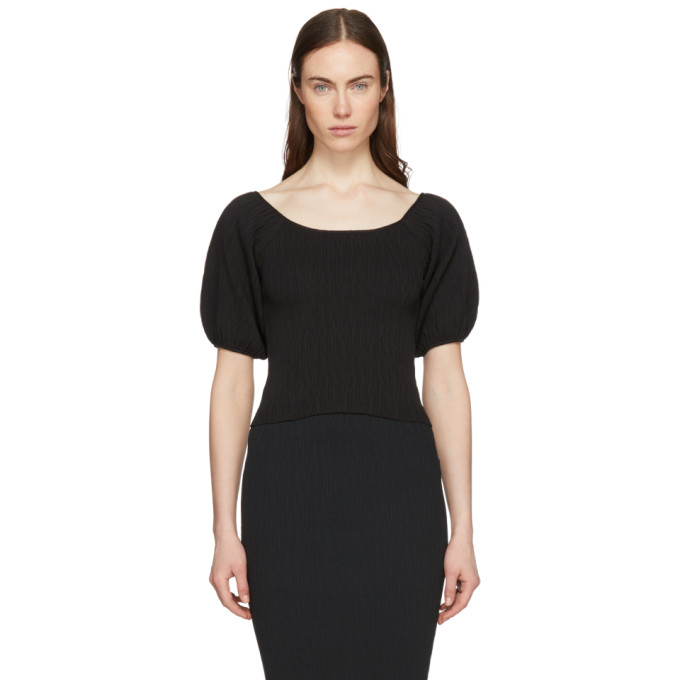 Simon Miller Black Gwinn Blouse