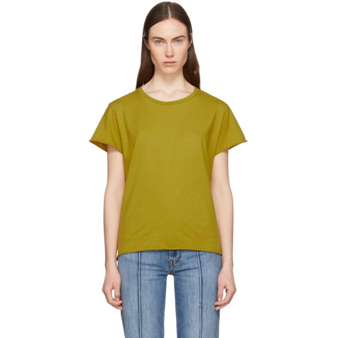Simon Miller Yellow Rowe T-Shirt
