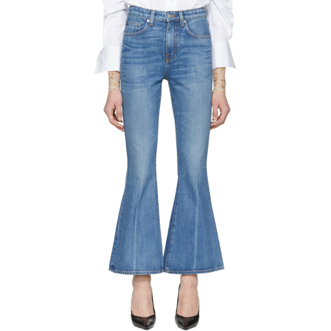 Image of Brock Collection Blue Belle Jeans
