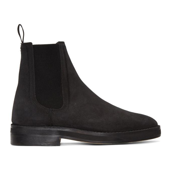 YEEZY Black Chelsea Boots