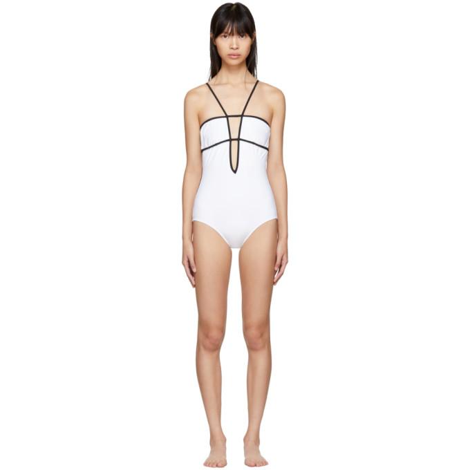 04e32e6bef8 Araks White and Black Harlow Swimsuit