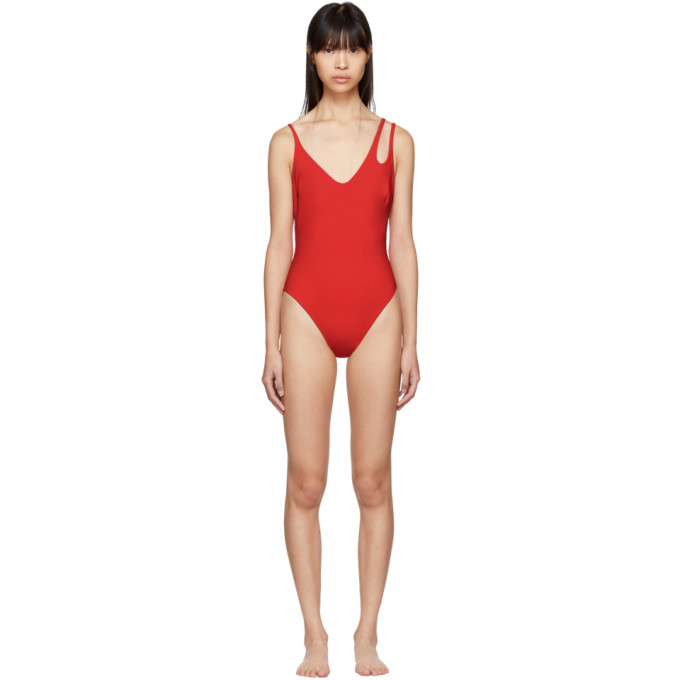 Image of Araks Red Jaime Swimsuit