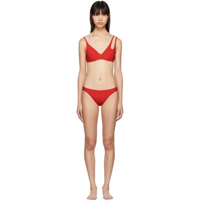 Image of Araks Red Elias Piper Bikini