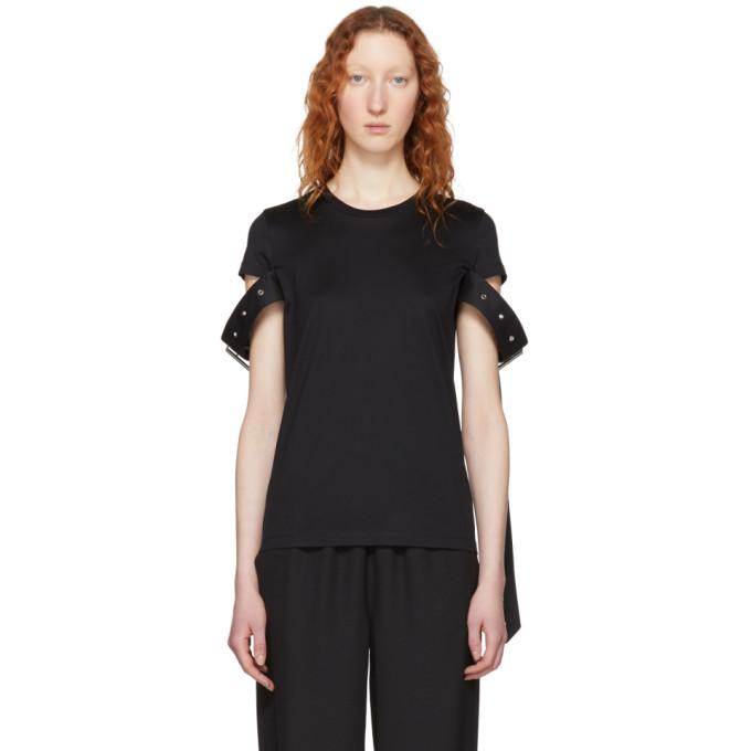 Image of Marques Almeida Black Belt Sleeve T-Shirt