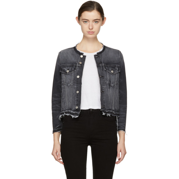 Image of Amo Black Denim Lola Jacket