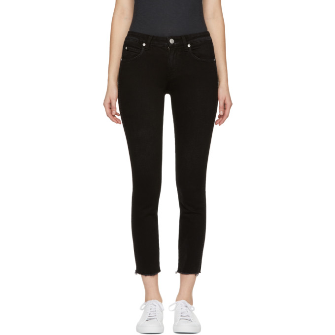 Image of Amo Black Stix Crop Jeans