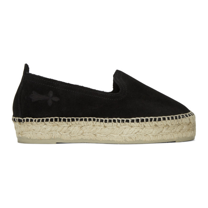Image of Manebí Black Hamptons Double Sole Espadrilles